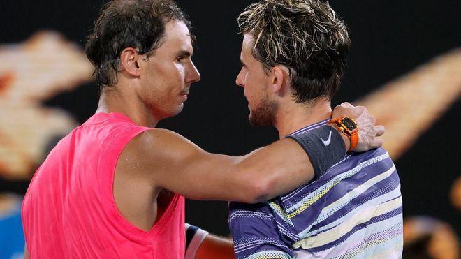 Nadal dice adiós al Open de Australia tras caer ante Thiem