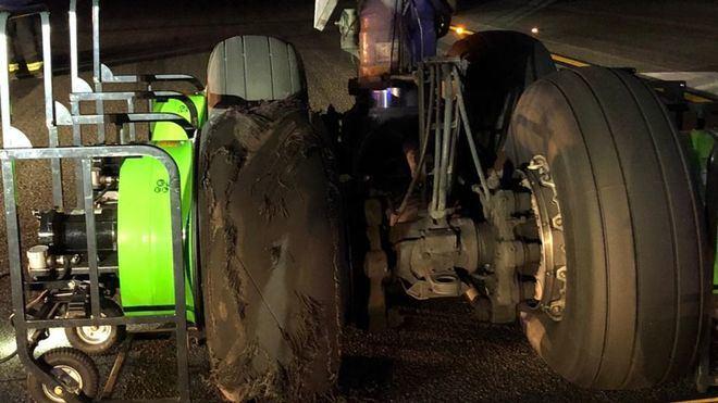 Imagen de la rueda afectada