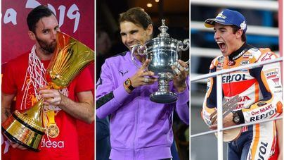 Nadal, Márquez y la selección española de baloncesto aspiran a ganar el 'Oscar del deporte'