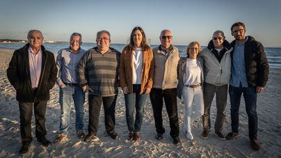 122 regatistas disputan el Campeonato de España 2020 de windsurf en Sa Ràpita
