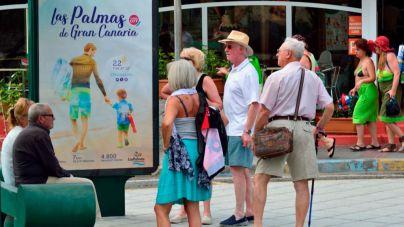 Los turistas alojados en Las Palmas generan un impacto económico de 226 millones