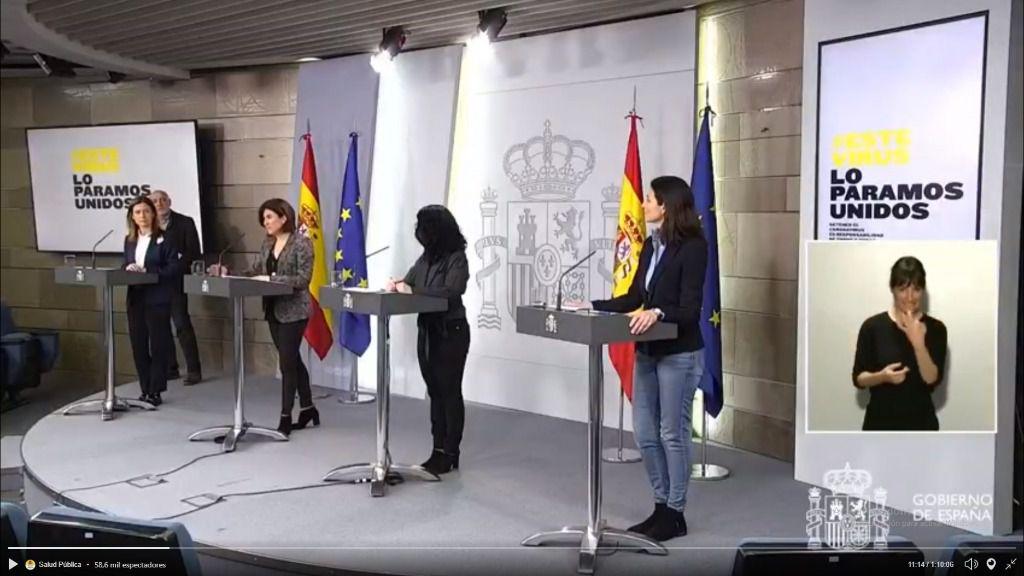 El índice de mortalidad por coronavirus se sitúa en un 5 por ciento en España