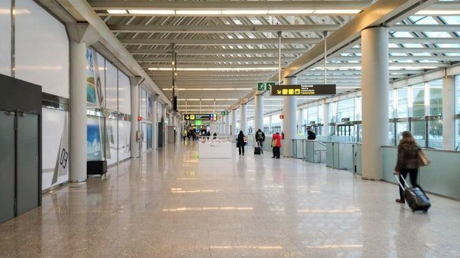 Las operaciones en aeropuertos caen un 84 por ciento en una semana