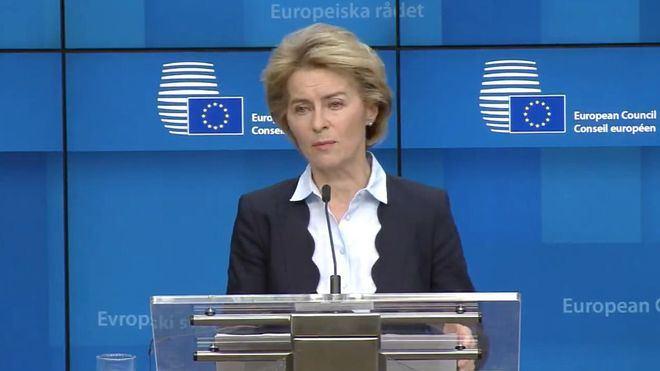 La presidenta de la Comisión Europea espera que el material para España esté disponible en dos semanas