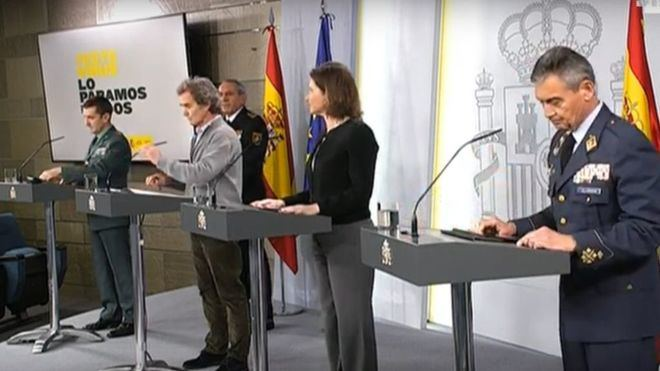 España supera a China en número de fallecidos con 3.434 víctimas