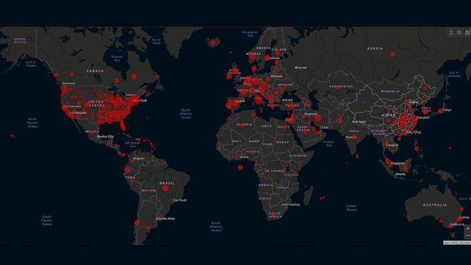 La web de recuento del coronavirus en tiempo real cifra en más de 5 millones los casos confirmados