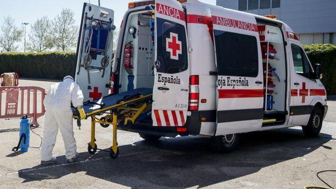 España registra 6.023 infectados y 674 muertes en 24 horas, las cifras más bajas en una semana