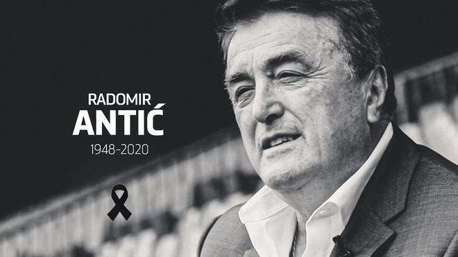 Luto en la familia del Atlético de Madrid por la muerte de Antic