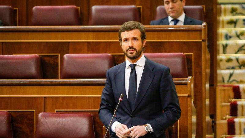 Casado deja en el aire el apoyo del PP a una nueva prórroga del estado de alarma