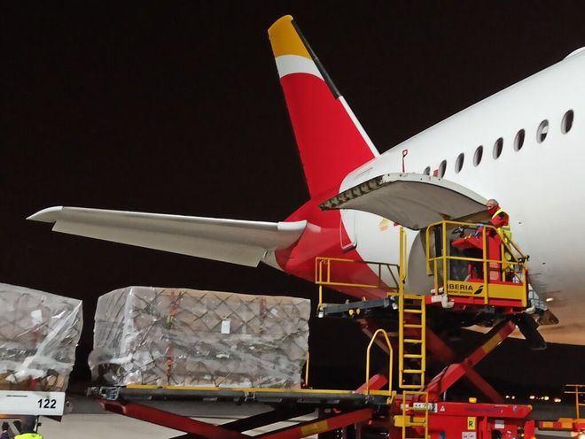 El Corredor Aéreo ha traído a España 76,6 millones de equipos de protección