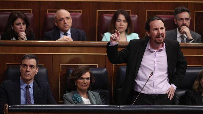 Iglesias, de nuevo en el ojo del huracán: 'Vox no da un golpe de Estado porque no se atreve'