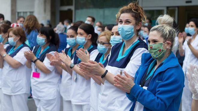 Los sanitarios españoles contra el coronavirus, Premio Princesa de Asturias de la Concordia