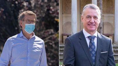 Feijóo revalida la mayoría absoluta en Galicia y Urkullu mejora resultados