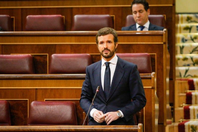 Casado critica el 'autobombo' de Sánchez tras la cumbre de la UE 'porque ha vuelto con un programa de rescate'