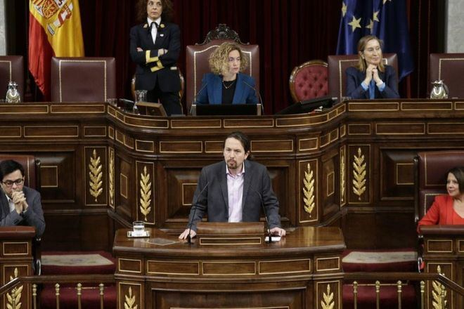 Pablo Iglesias califica de 'mala noticia' que los presos del 1-O vuelvan a prisión