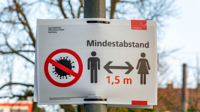 Alemania registra un millar de contagios en 24 horas y alcanza los 8.700 casos activos