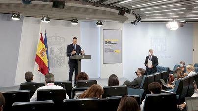 Sánchez descarta confinar España pero advierte que 'no puede cerrar ninguna puerta'