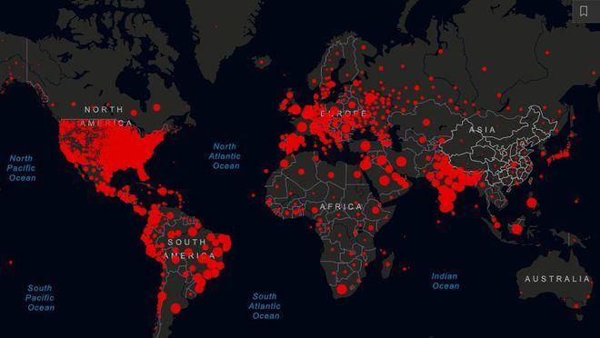 Las cifras del coronavirus en tiempo real: 47,4 millones de infectados y más de 1,2 millones de fallecidos