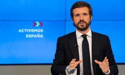 Pablo Casado: 'El PSOE se ha convertido en un partido sanchista'