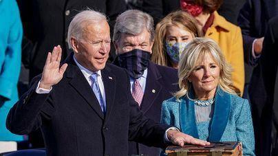 Comienza la era Biden: 'Ha ganado la democracia'