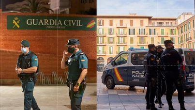 Guardias civiles y policías nacionales se vacunarán cuando culmine la fase de ancianos y sanitarios