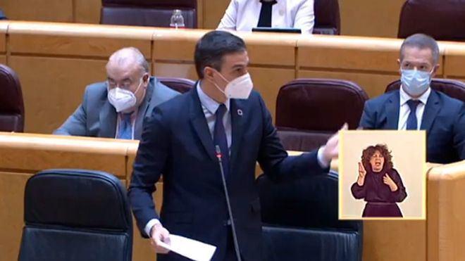 Sánchez reitera su intención de tener vacunada al 70 por ciento de la población 'a finales de verano'