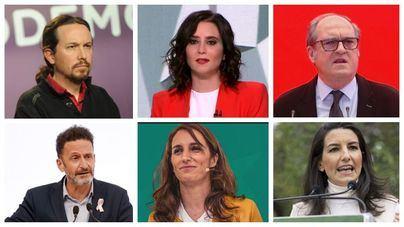 Llega la hora de la verdad en Madrid con más de cinco millones de electores llamados a votar