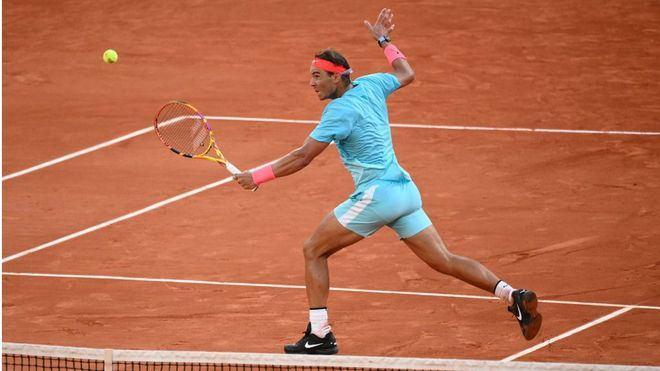 Nadal se deja un set ante Schwartzman, pero llega a las semifinales en Roland Garros