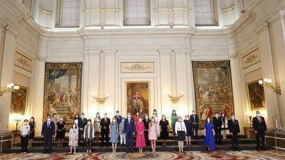 Yukonda Esparragoza representa a Canarias en el acto de entrega de la Orden del Mérito Civil