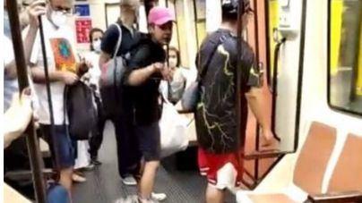 Brutal agresión a un sanitario que pidió a un joven que se pusiera la mascarilla en el Metro