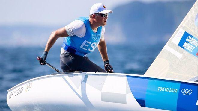 Tokyo 2020: Joan Cardona logra billete para la Medal Race de la clase Finn