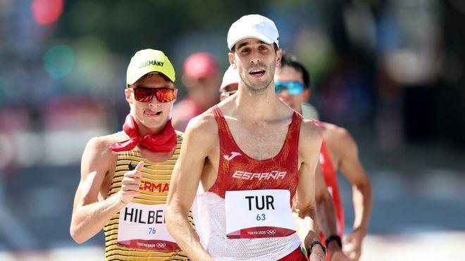 Tokyo 2020: Marc Tur pierde el bronce de los 50 kilómetros marcha a 200 metros de la meta