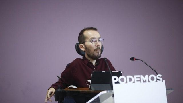 Echenique informa al Congreso de la compra de otra vivienda en Madrid y la venta de criptomonedas