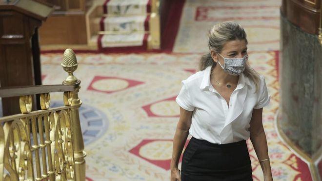 Yolanda Díaz avanza que los ERTE se prorrogarán más allá de diciembre