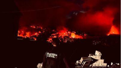 Las emisiones del volcán de La Palma llegan a El Hierro, La Gomera y Tenerife