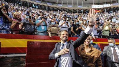 Casado cierra la Convención Nacional del PP cargando contra el 'trienio negro' de Sánchez