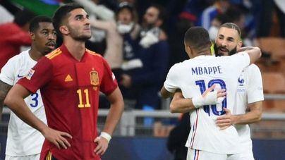 Benzema y Mbappé dejan a España sin Nations League