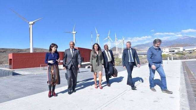 El Cabildo muestra a la colectividad francesa de San Martín la labor del ITER en desarrollo sostenible