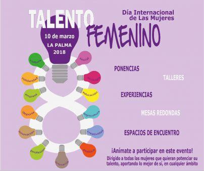 Día Internacional de las Mujeres con un homenaje al talento femenino en La Palma