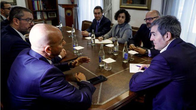 Clavijo anuncia 160 millones de euros para las dos próximas convocatorias de energía renovable