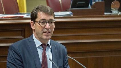 """Iñaki Lavandera: """"La falta de interés del Gobierno de Clavijo hacen que esta sea una legislatura perdida"""""""