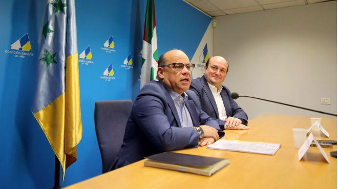 CC y PNV se unen para las elecciones europeas de 2019