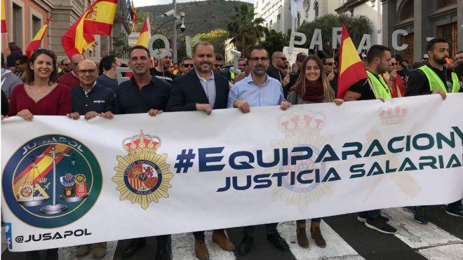 """Cs: """"La equiparación salarial de la Policía Nacional y de la Guardia Civil es de justicia"""""""