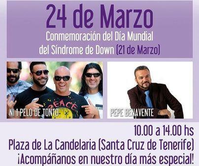 Santa Cruz acoge este sábado la celebración del Día Mundial del Síndrome de Down