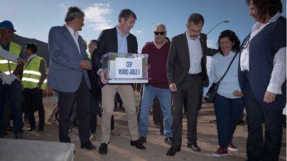 El presidente del Gobierno coloca la primera piedra del nuevo CEIP Morro Jable II