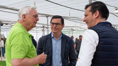El vicepresidente del Gobierno de Canarias destaca la excelencia del sector primario en las Islas