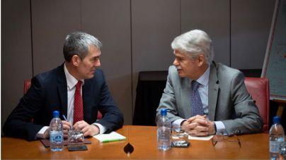 Clavijo considera una 'buena noticia' que las relaciones entre España y Venezuela 'se normalicen'