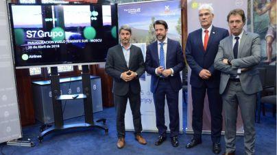 Una nueva conexión unirá Moscú con Tenerife dos veces por semana