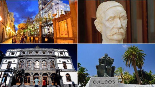 LPGC celebra el 175 aniversario del nacimiento de Benito Pérez Galdos