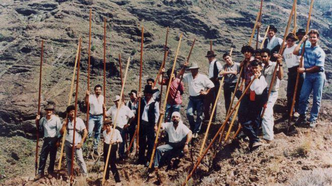 Declaran BIC a la Lucha Canaria y el Salto del Pastor